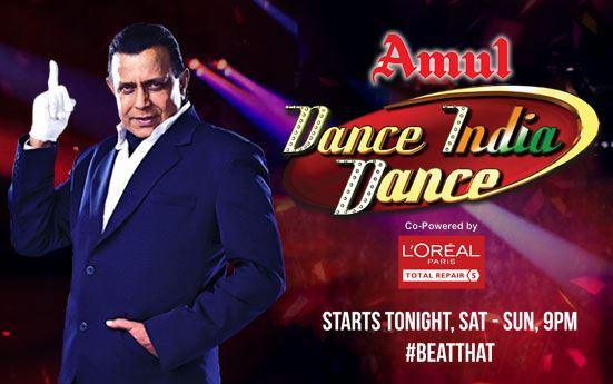 Zee TV Dance India Dance Season 5 Opening Ceremony Contestants Name Judges