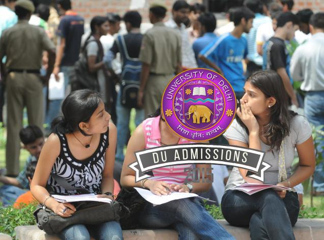 Delhi University (DU) Cut off 2015 Date Details Updates
