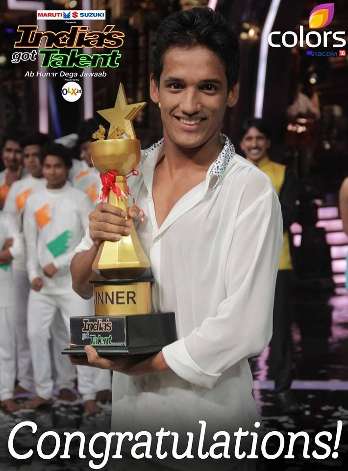 IGT 6 Winner Name Result Declared Manik Paul Won India Got Talent 2015 Title