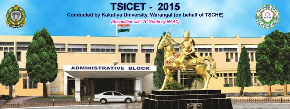 kakatiya University Telangana ICET TS Law PGL CET Result 2015 Announced tsicet.org