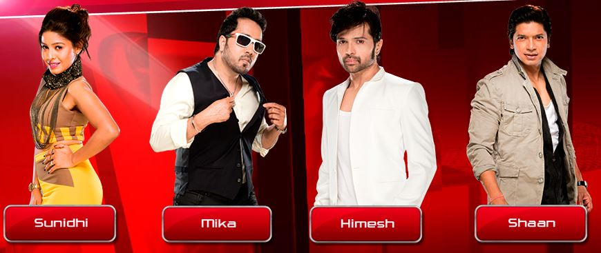 the voice india judges