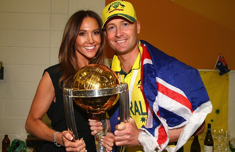Australian Skipper Michael Clarke Wife Kyly Is Pregnant