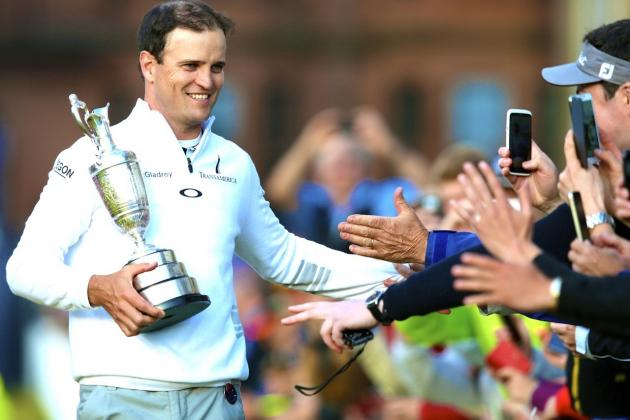 British Open Golf Championship 2015 Final 4th Round Wins by Zach Johnson