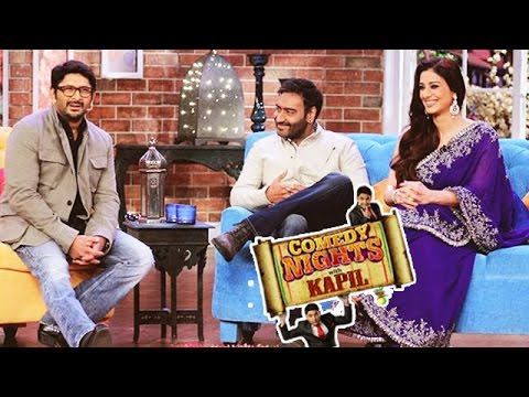 Actor Ajay Devgn On Sets Of CNWK Comedy Night with Kapil 26 July 2015 Show Video