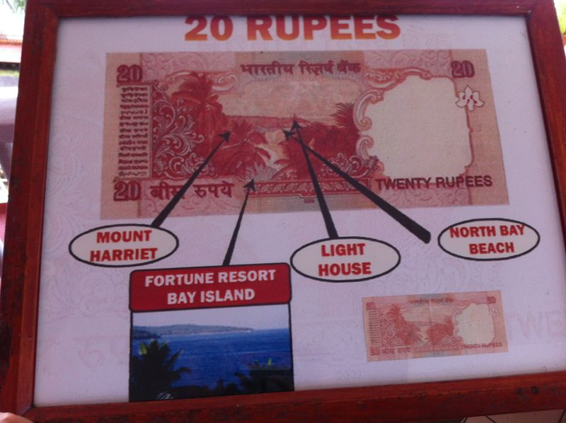 All notes carry an imprint of something Indian