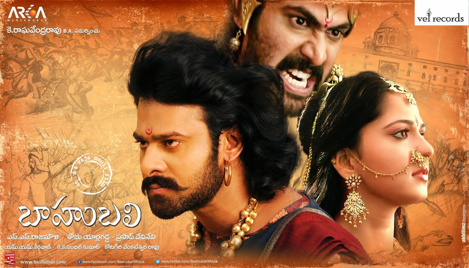 The Epic Bahubali Movie Watch World TV Premier On Sony Set Max Date Time Details