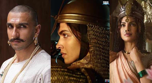 Bajirao Mastani Movie Ranveer Singh Deepika Padukone Priyanka Chopra 1st Look Released