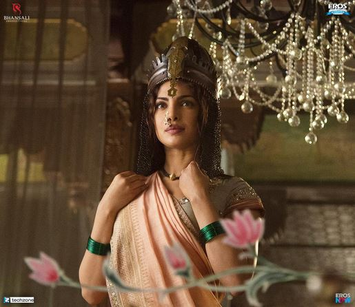 Bajirao Mastani Movie Priyanka Chopra 1st Look Released
