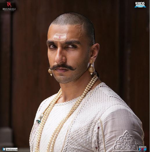 Bajirao Mastani Movie Ranveer Singh 1st Look Released