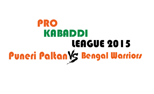Watch Pro Kabaddi League 2015 Pune vs Kolkata Match 20 Live Score Result Prediction