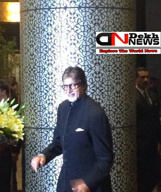 Big B Shahid Mira Reception