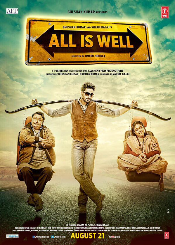 All Is Well Movie Official Trailer