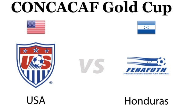CONCACAF Gold Cup 2015 USA vs Honduras Group A Match Live Score Streaming Result Prediction