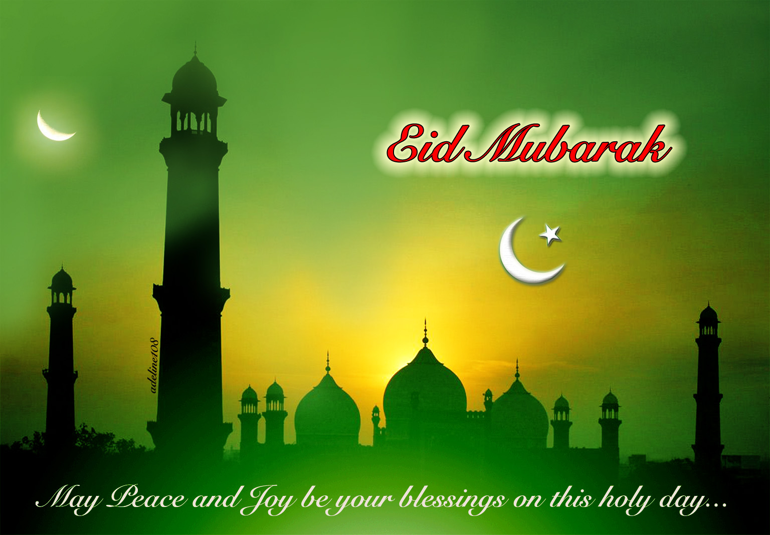 Happy Eid Mubarak Dua 2018 Whatsapp Status DP SMS Wishes ...