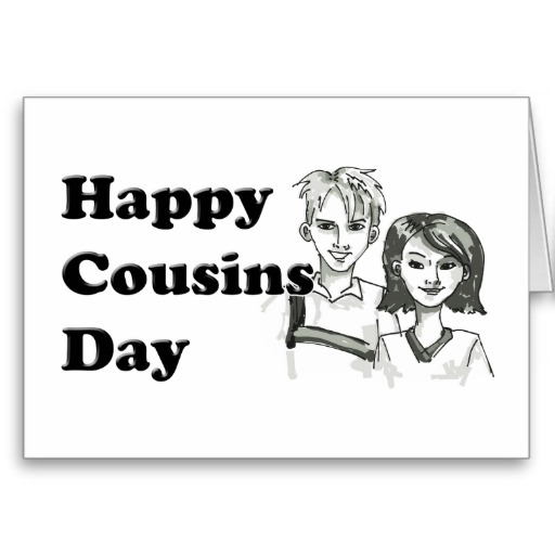 Happy Cousins Day Wishes 2015