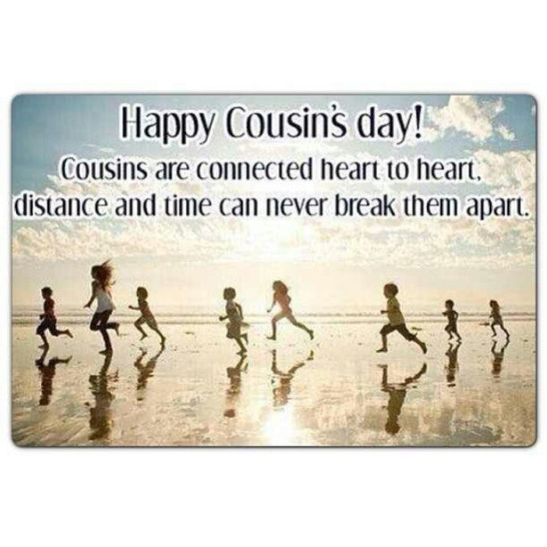 Happy Cousins Day Wishes SMS Messages Images Photos
