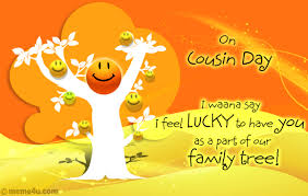 Happy Cousins Day Wishes SMS Messages