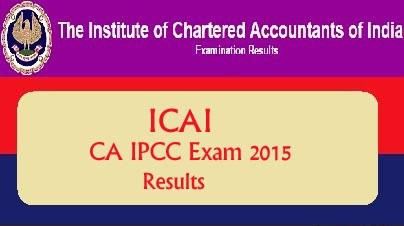 Download CA IPCC May 2015 Exam Result on 31 July 2015 at caresults.nic.in