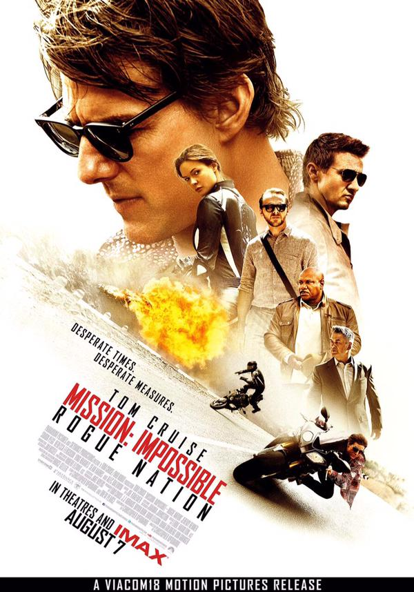Mission Impossible Rogue Nation Movie New Poster Released