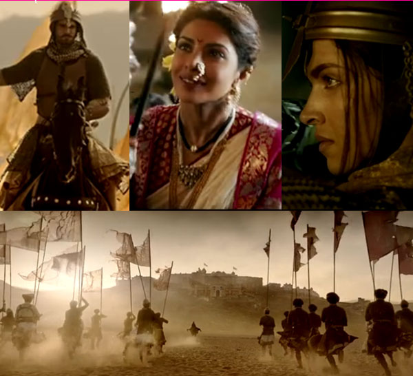 Most Awaited Movie Bajirao Mastani Teaser Trailer Video Released Today