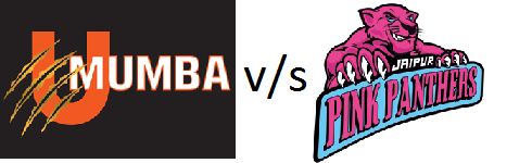 PKL 2015 U Mumba vs Jaipur Pink Panthers 1st match Live Score Streaming Winner Result