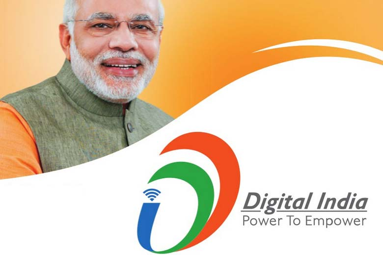 PM Narendra Modi Launches Digital India Week Project From 1st July To 7th July 2015