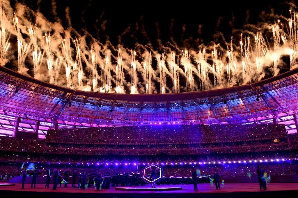 Pacific Games 2015 Closing Ceremony Images Photos
