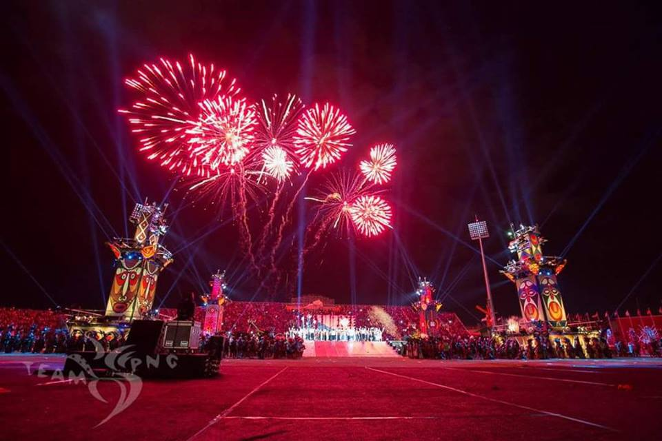 Pacific Games 2015 Closing Ceremony