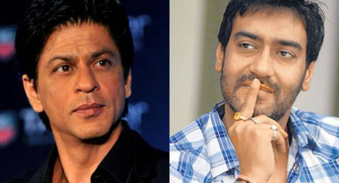 SRK & I Are Like Colleagues, Not Good Friends Says Ajay Devgn