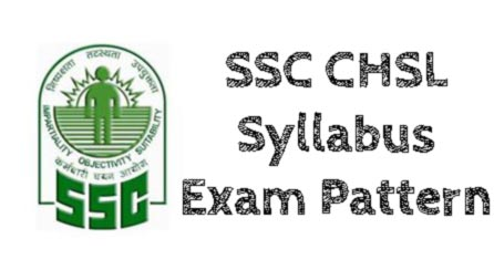 SSC CHSL Exam Syllabus And Pattern 2015