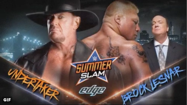 The Undertaker vs Brock Lesner in Summerslam 2015 hd Videos Winner Prediction 23 August 2015