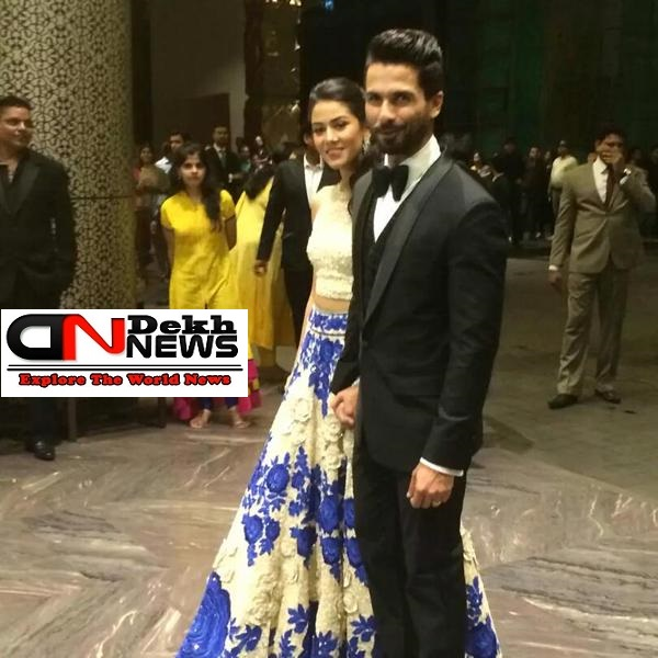 Shahid Kapoor Mira Reception
