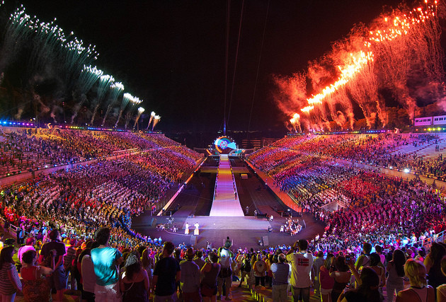 Special Olympics World Games 25 July 2015 Opening Ceremony Live Streaming Video Performance