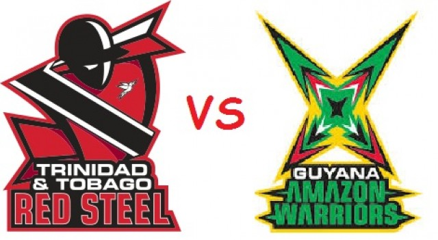 T20 CPL 2015 GAW Vs TTR Match 30 Live Score Streaming Team Squad Result Prediction