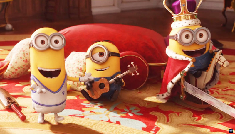 The Hollywood film Minions Movie Review Rating Box Office Collection