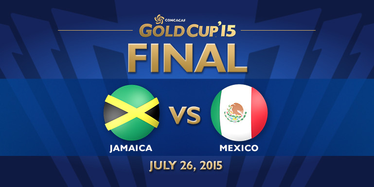 Today Gold Cup 2015 Jamaica Vs Mexico Final Match Live Streaming Result Prediction