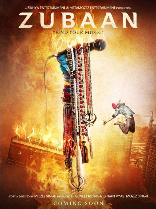 Upcoming Film Zubaan First look 1st Poster Released Today