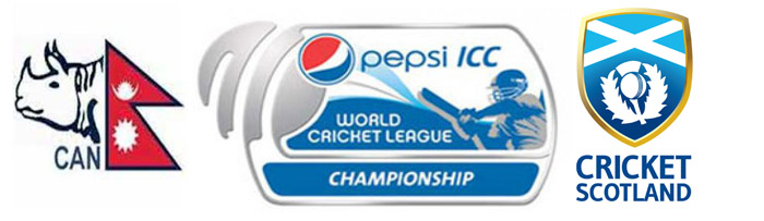 Watch ICC World Cricket League Championship 2015 Match 7 Scotland v Nepal Live Score Team Squad Prediction