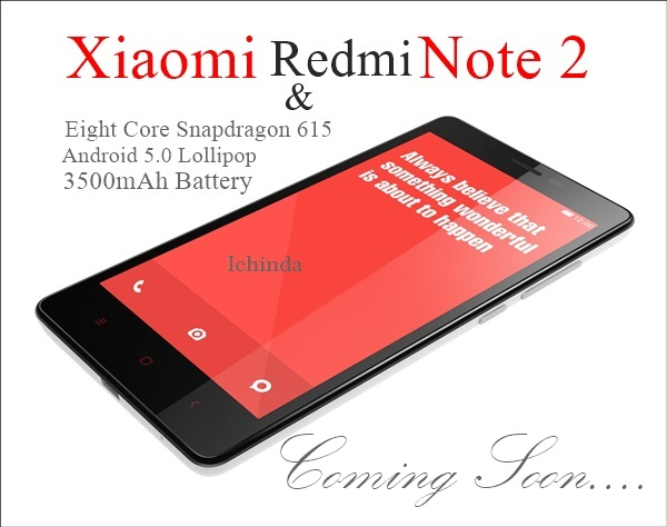 Xiaomi Smartphone Redmi Note 2  Features Specifications Price Images