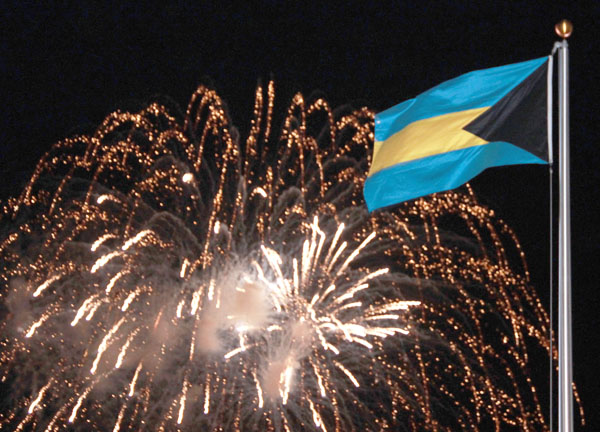bahamas independence day flag pics