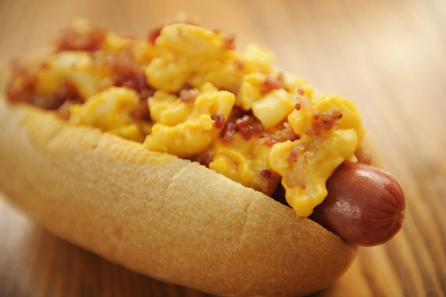 Macaroni & Cheese Hot Dog