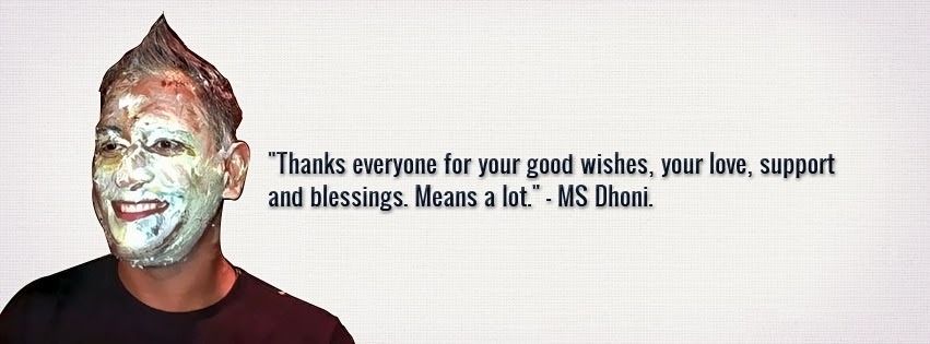 dhoni birthday thanks wishes