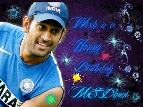 dhoni happy birthday