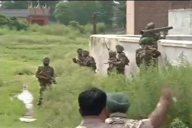 5 Killed in The Terrorist attack in Gurdaspur District, Punjab