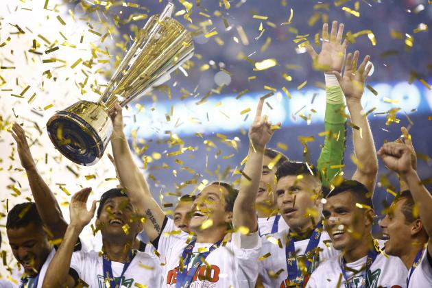 Maxico Wins CONCACAF Gold Cup 2015 Title 7th Time After Beating Jamaica by 3-1