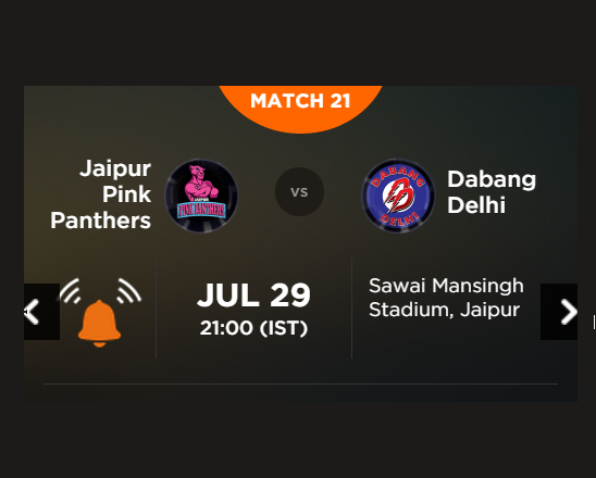 Watch Pro Kabaddi League 2015 Jaipur vs Delhi Match 21 Live Score Result Prediction