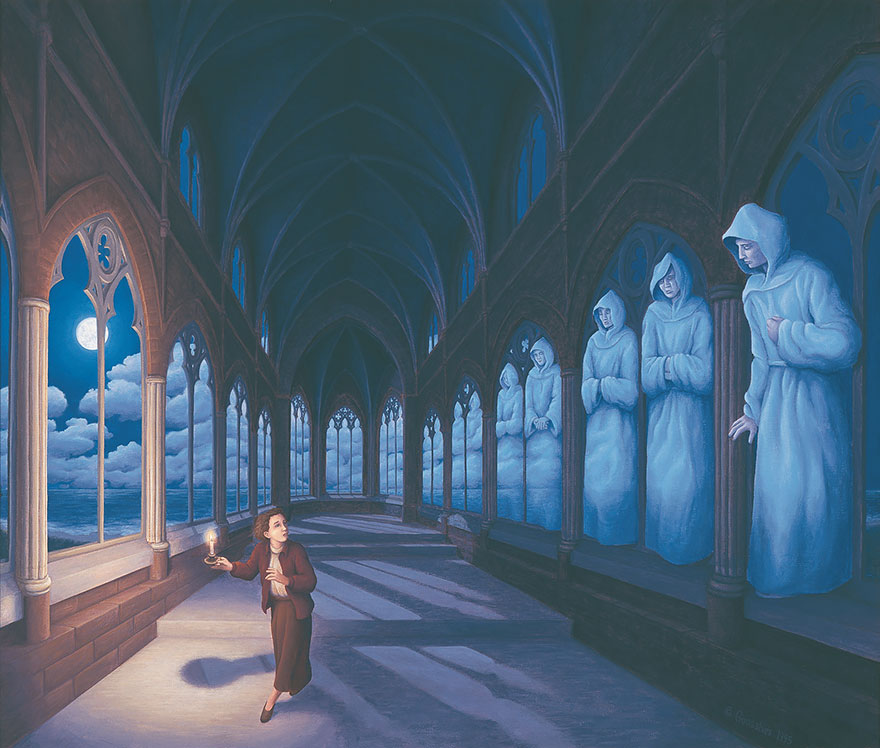 magic realism paintings by rob gonsalves 11