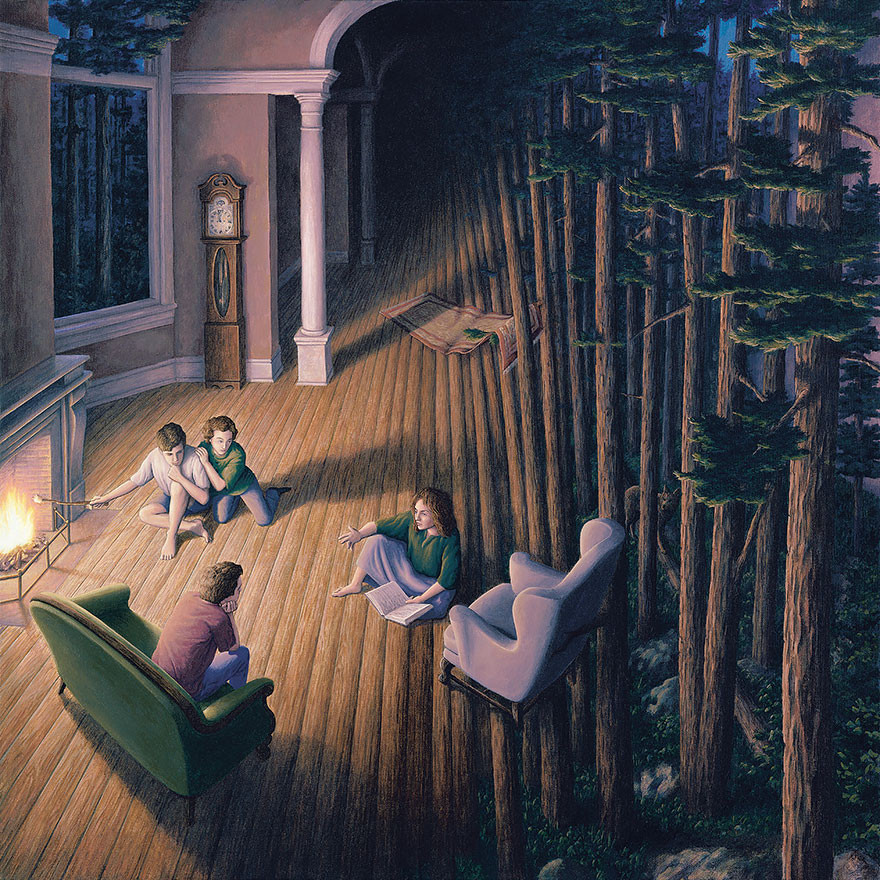 magic realism paintings by rob gonsalves 18