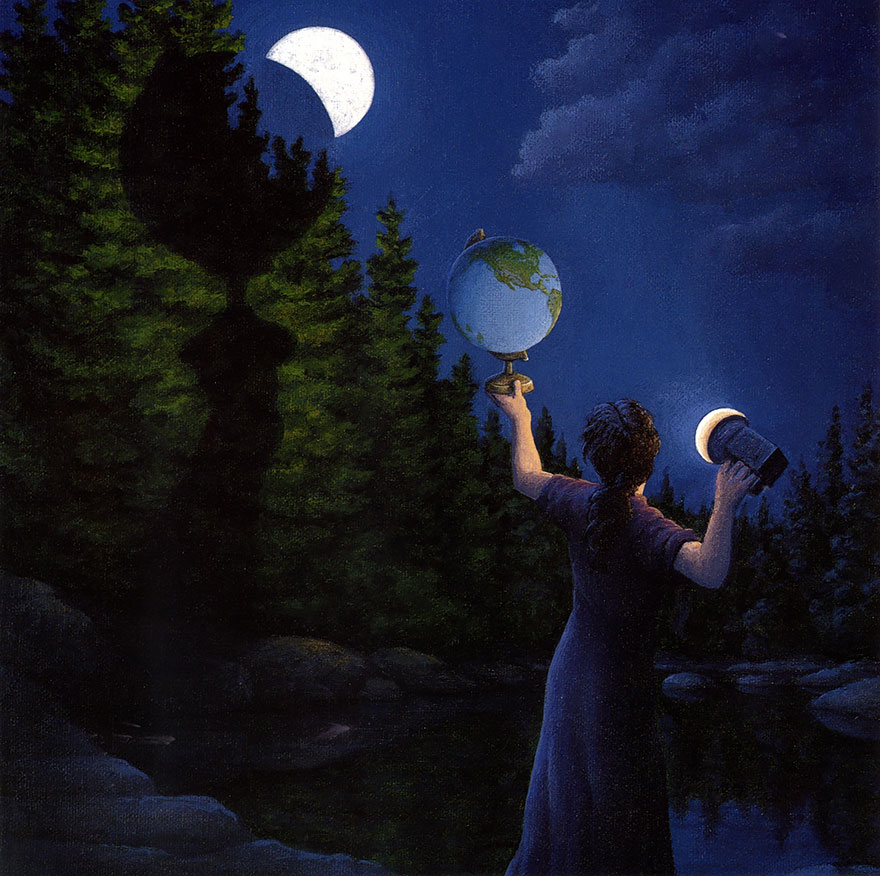 magic realism paintings by rob gonsalves 19