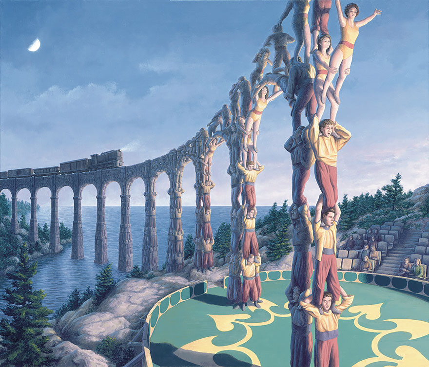 magic realism paintings by rob gonsalves 23